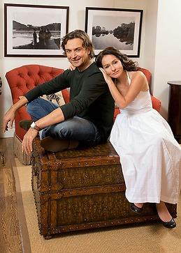 Алина Лазарева, жена Лазарева младшего, тогда носила совсем другую фамилию...